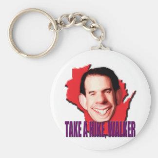 Take a Hike Scott Walker Keychain