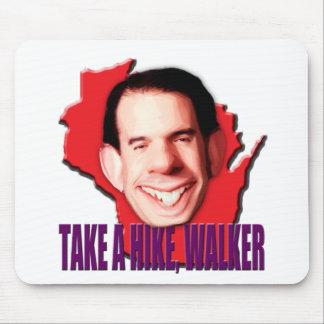 Take a Hike Scott Walker Mouse Pad