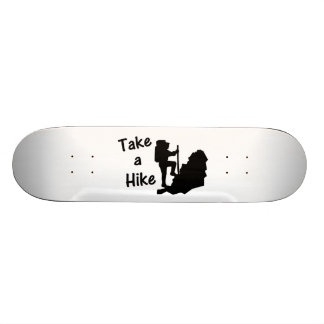 Take A Hike Skateboard Deck
