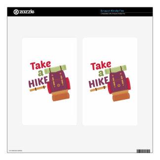 Take A Hike Skins For Kindle Fire