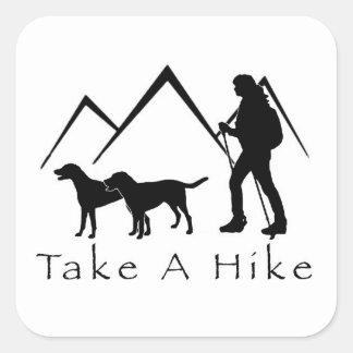 Take a Hike Sticker- Mutts