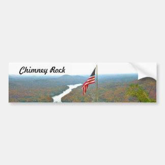 Take A Hike Up To Chimney Rock Bumper Sticker