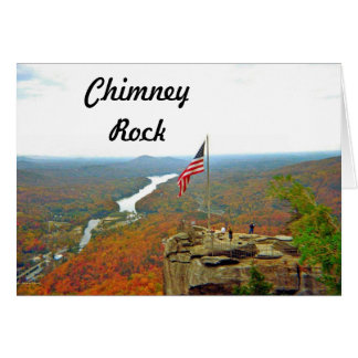 Take A Hike Up To Chimney Rock Card