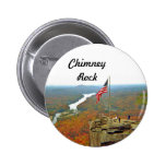 Take A Hike Up To Chimney Rock Pinback Button