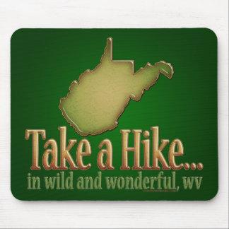 Take a Hike...WVState Mouse Pad