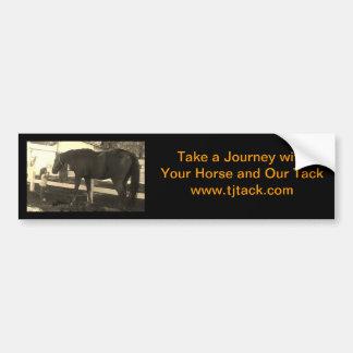 Take a Journey Tack Bumper Sticker