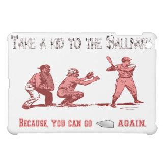 Take a Kid to the Ballpark iPad Case