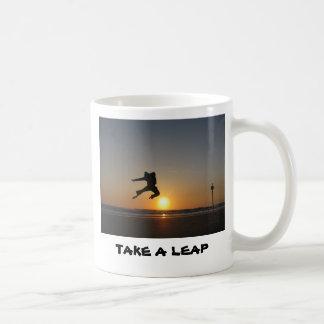 TAKE A LEAP Mug