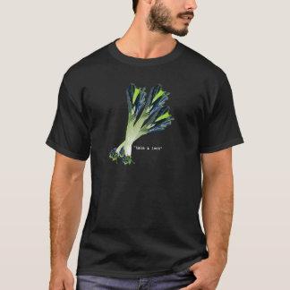 take a leek - fro dark apparel T-Shirt