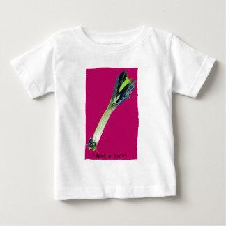 take a leek hot pink baby T-Shirt
