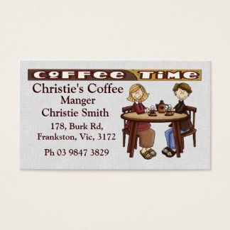 Take a Load off Business Card