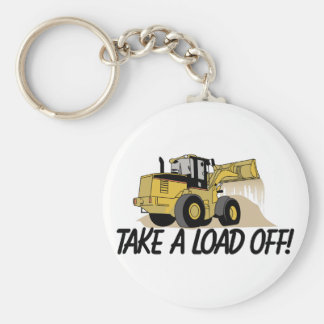 Take A Load Off Keychain