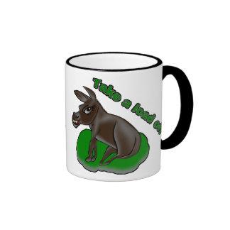 Take a load off ringer mug