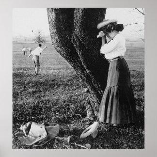 Take A Mulligan: 1906 Print