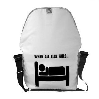 Take A Nap Courier Bag