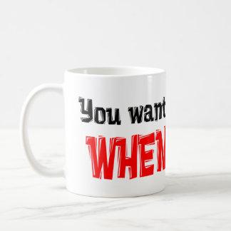 take a number coffee mug