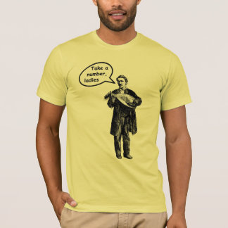 Take a number, ladies (Mandolin) T-Shirt