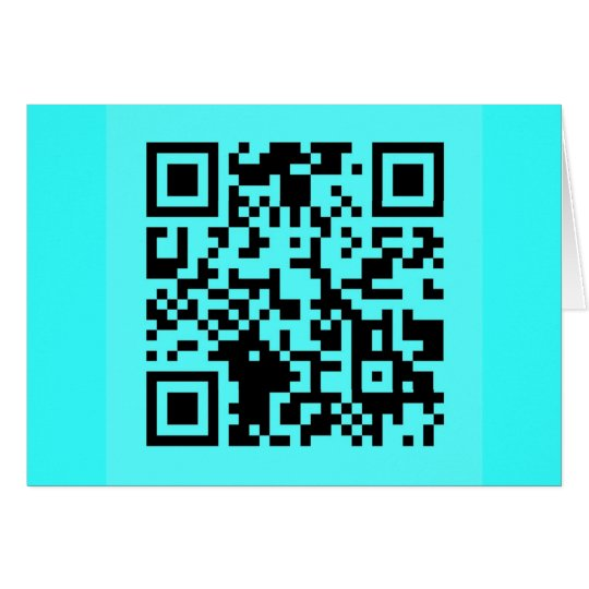Take a Picture. It will Last Longer! QR Message Card