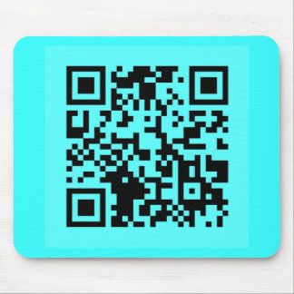 Take a Picture. It will Last Longer! QR Message Mouse Pad