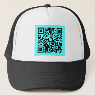 Take a Picture. It will Last Longer! QR Message Trucker Hat