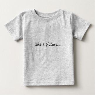 take a picture...it'll last longer infant shirt