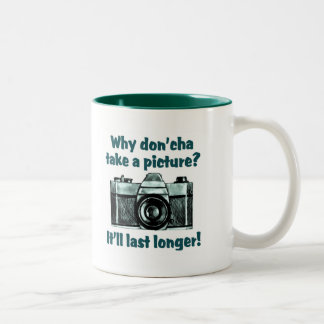 Take A Picture Two-Tone Coffee Mug