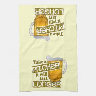 Take a Pitcher it will Last Longer Kitchen Towel