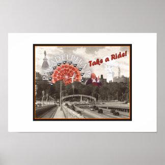 Take A Ride! Print