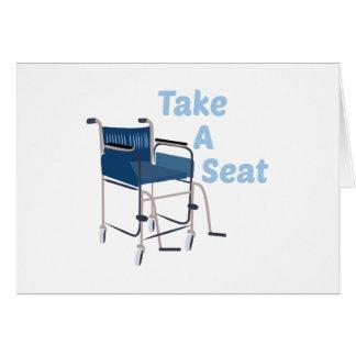Take A Seat Card