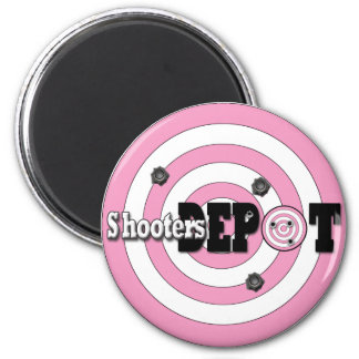 Take A Shot At Shooter's Depot 2 Inch Round Magnet