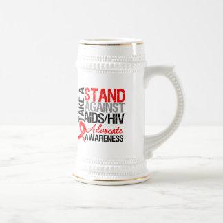 Take a Stand Against AIDS HIV Mug