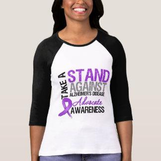 Take a Stand Against Alzheimers Disease Tee Shirt