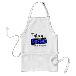 Take a Stand Against Anal Cancer Adult Apron