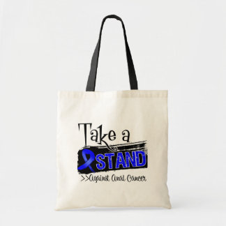 Take a Stand Against Anal Cancer Budget Tote Bag
