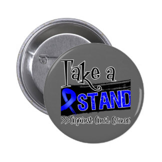 Take a Stand Against Anal Cancer 2 Inch Round Button