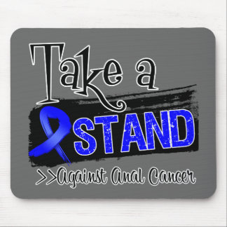 Take a Stand Against Anal Cancer Mouse Pad