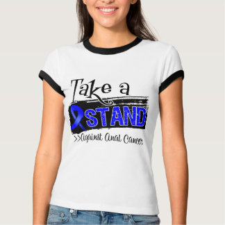 Take a Stand Against Anal Cancer T Shirt