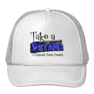 Take a Stand Against Anal Cancer Trucker Hat