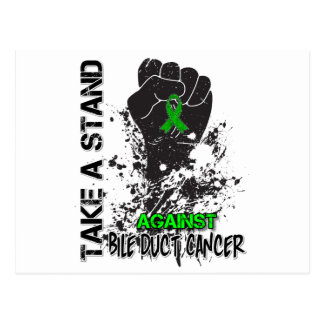 Take a Stand Against Bile Duct Cancer Postcard