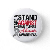 Take a Stand Against Brain Tumors Button