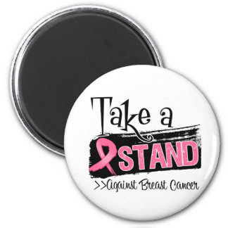 Take a Stand Against Breast Cancer Magnets