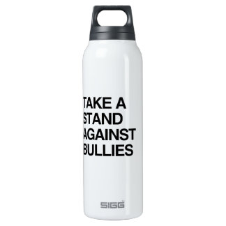 TAKE A STAND AGAINST BULLIES 16 OZ INSULATED SIGG THERMOS WATER BOTTLE