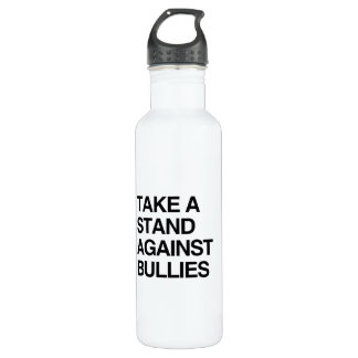 TAKE A STAND AGAINST BULLIES 24OZ WATER BOTTLE