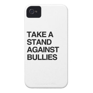 TAKE A STAND AGAINST BULLIES Case-Mate iPhone 4 CASES