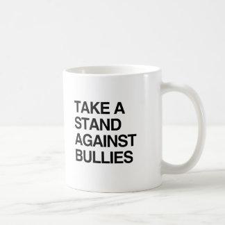 TAKE A STAND AGAINST BULLIES CLASSIC WHITE COFFEE MUG