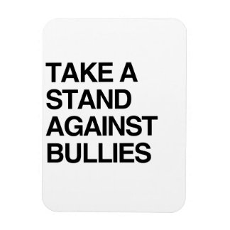 TAKE A STAND AGAINST BULLIES FLEXIBLE MAGNET