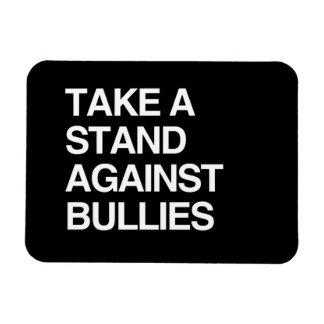 TAKE A STAND AGAINST BULLIES RECTANGULAR PHOTO MAGNET