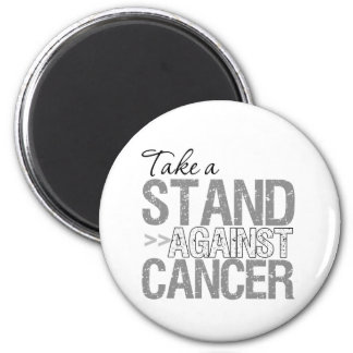 Take a Stand Against Cancer - Carcinoid Cancer 2 Inch Round Magnet