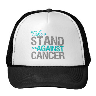 Take a Stand Against Cancer - Cervical Cancer Mesh Hat