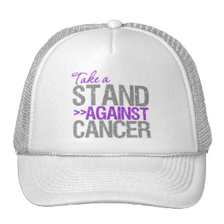 Take a Stand Against Cancer - Pancreatic Cancer Trucker Hat